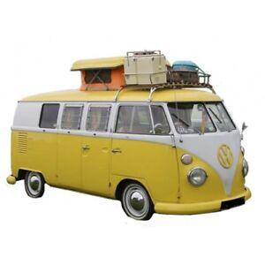 be3fa520d5 VW T2 Turret Top Pop Up Top Roof Canvas Westfalia Orange C9048O