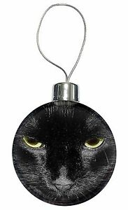 image is loading gorgeous black cat christmas tree bauble decoration gift