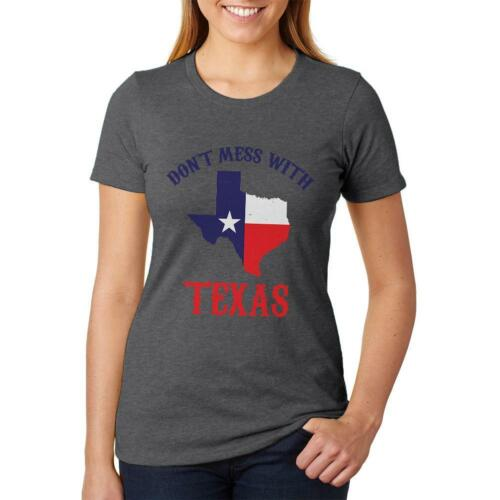 Don/'t Mess With Texas Womens Soft Heather T Shirt