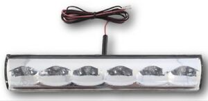 Truck Cap, Topper 3rd Brake Light, Clear, Recessed | ATC AT-LED-36R-01R