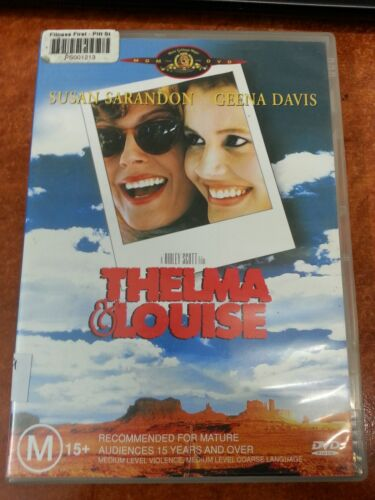 1 of 1 - Thelma & Louise DVD (18049)