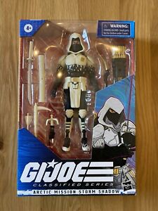 G.I. Joe Classified Series - Arctic Mission Storm Shadow - Brand New *IN HAND*