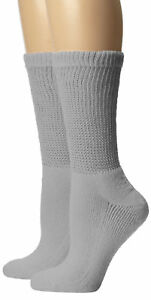 3-6-12-Pairs-Diabetic-CREW-Circulatory-Socks-Health-Men-Women-Cotton-9-11-10-13