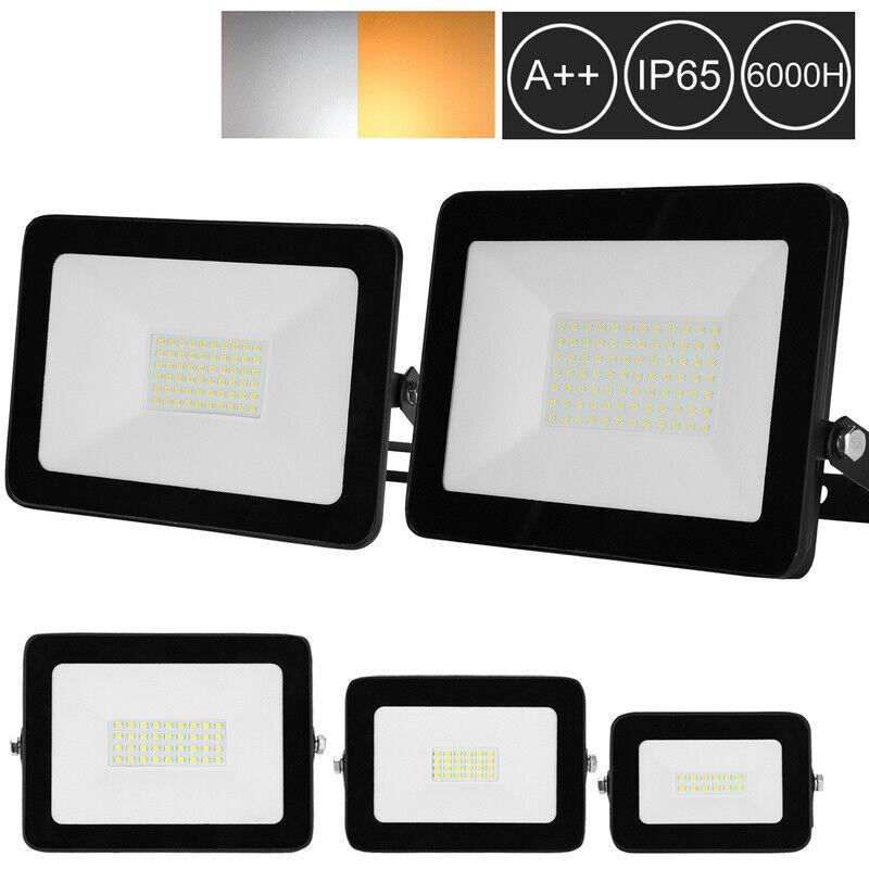 LED Fluter Bewegungsmelder Strahler Aussenbereich Flutlicht IP65 RGB 10W-100W