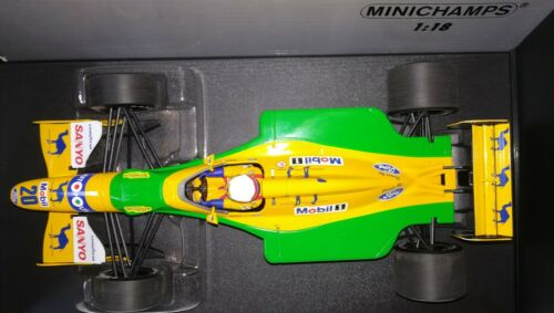 Minichamps F1 Benetton Ford B192 Martin Brundle 1//18 3rd Place Silverstone 1992