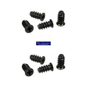 8-Stueck-5-x-10mm-Schraubenkit-fuer-Systemluefter-Gehaeuseluefterschauben-schwarz
