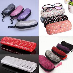 Zipper-Sunglasses-Hard-Eye-Glasses-Case-Eyewear-Protector-Box-Cleaning-Cloth