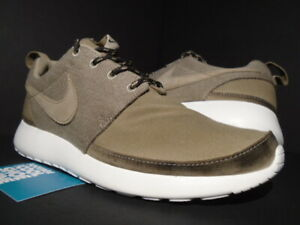 f0f409a09664 NIKE ROSHE RUN ROSHERUN PREMIUM NRG ONE KHAKI WHITE BLACK TEA 580566 ...