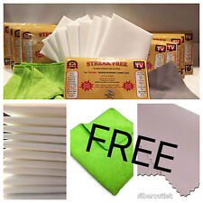 Streak Free White Microfiber MultiPurpose Cleaning Cloths As Seen On TV 12 InWrp