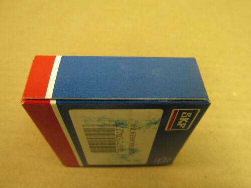 NIB SKF 60072ZC3 BEARING METAL SEALED 60072Z 6007ZZ 6007 2Z C3 GJN  35x62x14 mm