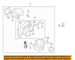 Details about NISSAN OEM 98-02 Frontier Air Conditioner-Thermal Switch  276759Z000
