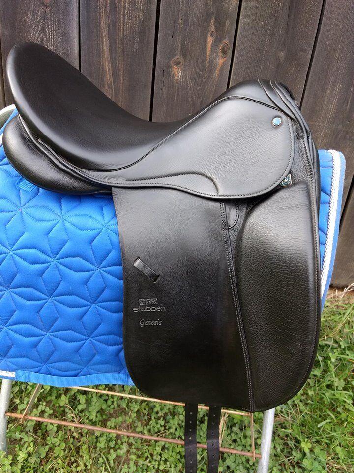17.5  28 cm stubben Genesis selle de dressage de cheval ou poney