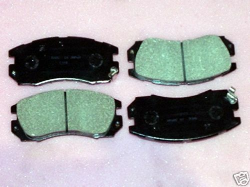 Front Brake pads for Subaru Impreza WRX 4 pad set Legacy 4-cam Turbo to 1996