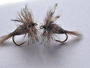 6 Pack Choice of sizes Adams Irresistible Trout Flies Fishing Flies