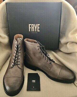 $228 FRYE Men's Seth Cap Toe Lace Up