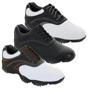 Footjoy Mens FJ Originals Leather Waterproof Spiked Golf Shoes 38% OFF RRP