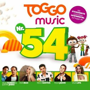 Various-Toggo-Music-54-CD-NEU-OVP