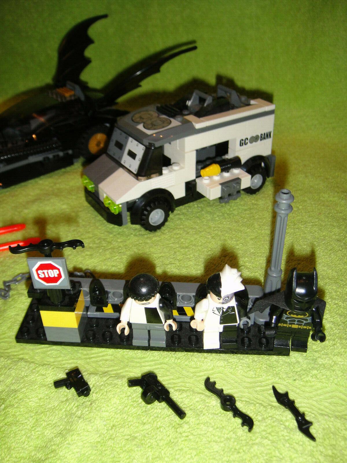 Lego Batman 7781 Two Face Escape Gehilfe Gehilfe Gehilfe Fahrzeug Batmobile 64caae