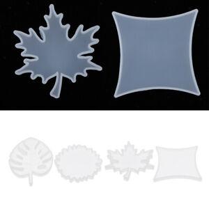 Silikon-Ornamente-Form-Untersetzer-DIY-Epoxidharz-Gussformen-fuer-Seifenkerzen