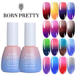 BORN-PRETTY-Nail-UV-Gel-Polish-Thermal-Color-Changing-Glitter-Shimmer-Soak-Off