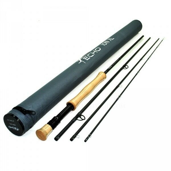 ECHO ION XL 7100-4 10' FOOT WEIGHT 4 PIECE FLY ROD + TUBE, FREE U.S. SHIPPING
