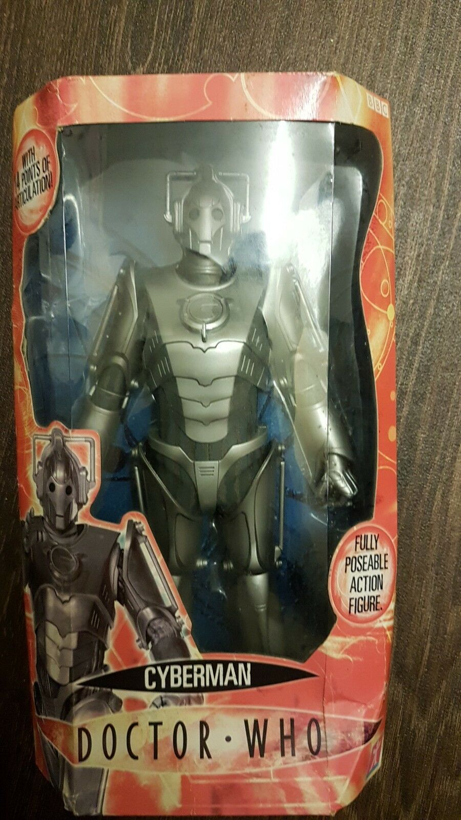 Dr Who Series 2 Large 30cm 30cm 30cm Action Figure Cyberman 14 PoA New In Box doctor who 435836