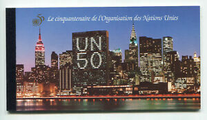 s10525) UNITED NATIONS (GENEVE) MNH** 1995, 50th of UNO BOOKLET