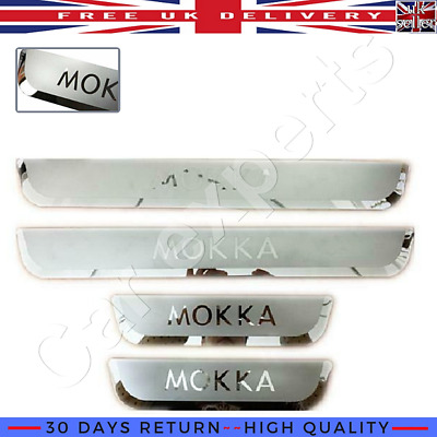 Stainless Steel Outer Door Sill Scuff Plate Guards Cover For Ford Focus 2012-18
