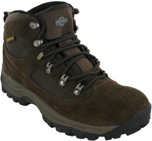 Northwest Hombre Botas Impermeables Senderismo Cordones Trekking Zapatos 7-12