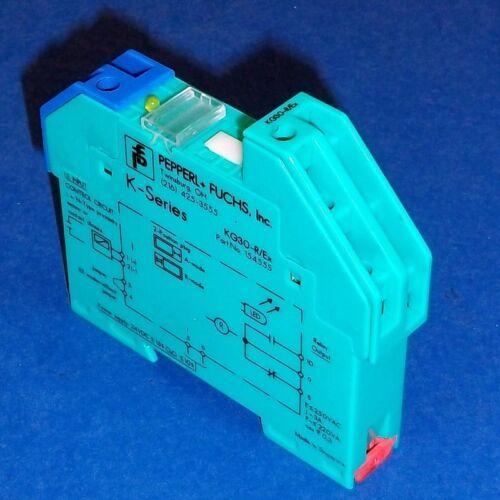 FUCHS 24VDC SAFETY BARRIER KG30-R//Ex PEPPERL
