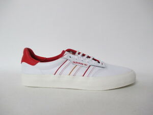 new product e2b4e c8207 Image is loading Adidas-3MC-X-Evisen-White-Scarlet-Red-Cream-