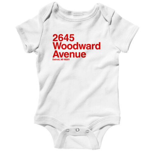 Detroit Hockey Stadium One Piece Red Wings Baby Infant Creeper Romper NB-24M