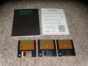 Maximum-Comanche-Overkill-PC-IBM-3-5-034-floppy-disks-with-manual-near-mint