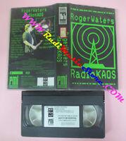 VHS ROGER WATERS Radio kaos 1988 PINK FLOYD PMI CMV 1101 (VM11)