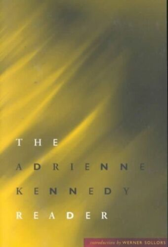 1 of 1 - The Adrienne Kennedy Reader-ExLibrary