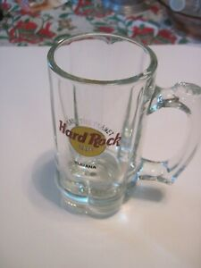 Hard-Rock-Cafe-TIJUANA-6-034-Beer-MUG-Glass-with-HRC-Logo-034-SAVE-THE-PLANET-034-A1005