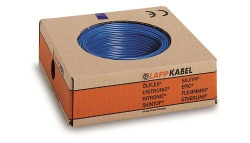 0.5 mm² 22 AWG Blu scuro, 600 V filo quadro Lapp Kabel 4160114-agganciare