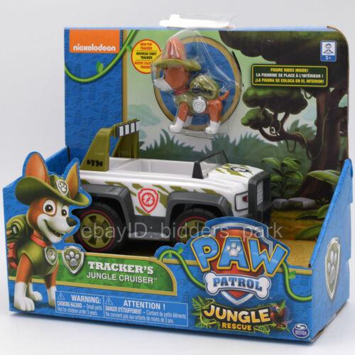 Nickelodeon PAW Patrol Dog Tracker/'s Jungle Cruiser Rescue Model Car Kids Toy