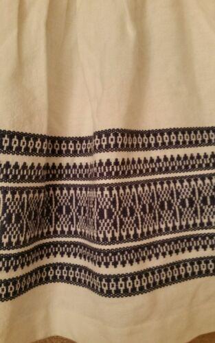 2 Skirt Blue Bohemian Womens taglia Cabana Madewell Skyline Jacquard E9967 EqnaYCxTw