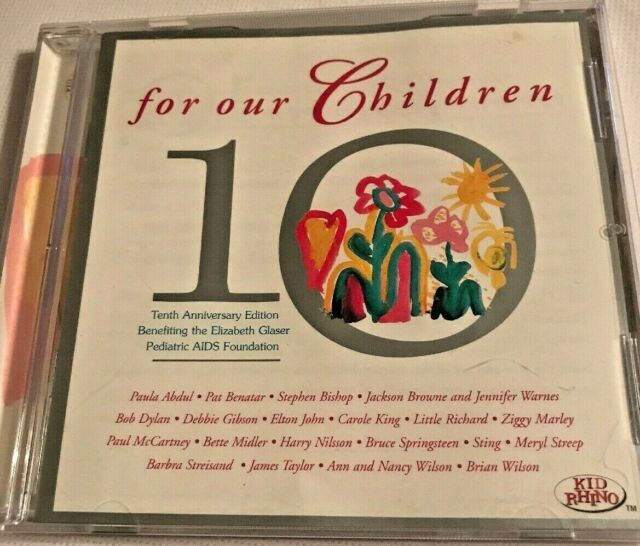 For Our Children: 10th Anniversary Edition By Disney (CD