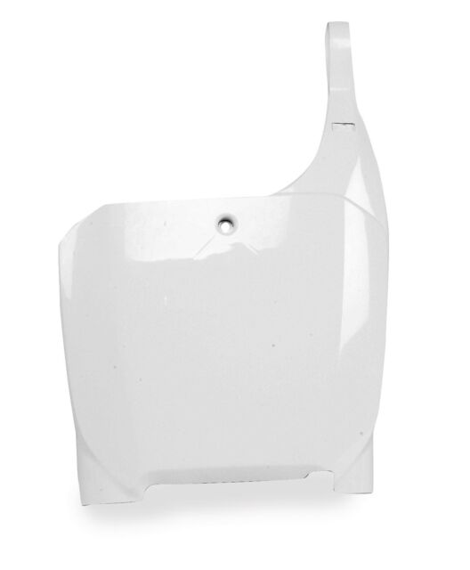 Polisport 8661500010 Front Number Plate White