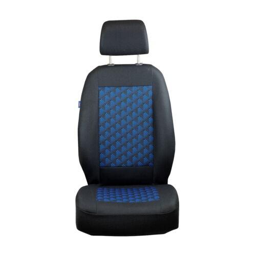 Schwarz-blau Effekt 3D Sitzbezüge für FORD FOCUS Autositzbezug Komplett