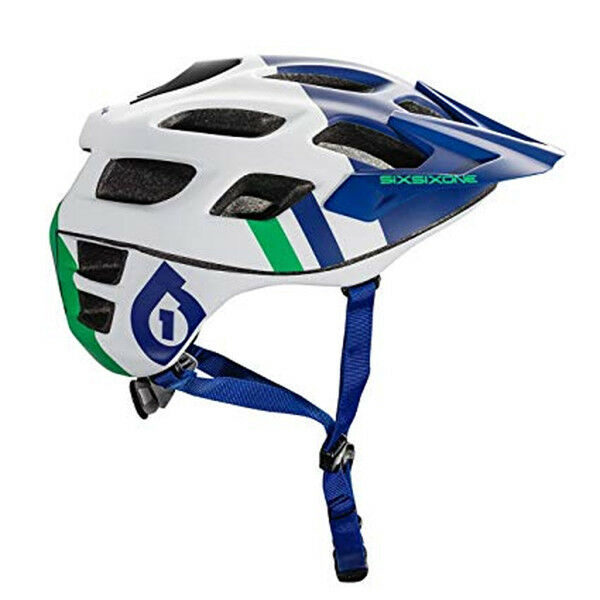 661 SixSixOne Recon MTB Bicycle Helmet (CPSC) - blueE GREEN - Large   Extra Large