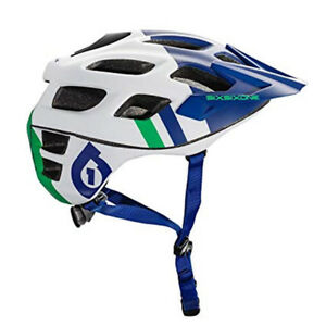 661-SixSixOne-Recon-MTB-Bicycle-Helmet-CPSC-BLUE-GREEN-Large-Extra-Large