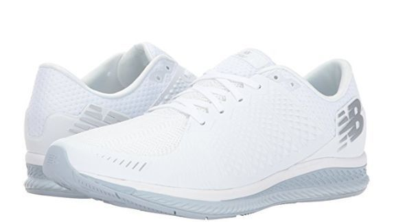 New Balance  FuelCell Running Shoe MFLCLWG, White With Light Gray, Size 9 EE