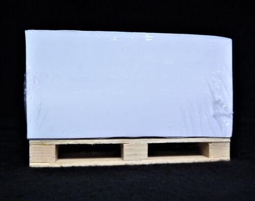 10 Stk Notizblock mit Palette Europalette 12cmx8cmx7,5cm Bürobedarf Paletten