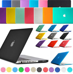 49baf5886d36 Details about 2in1 Matte Hard Case Rubberized +Keyboard Cover For Macbook  Pro 13.3 13