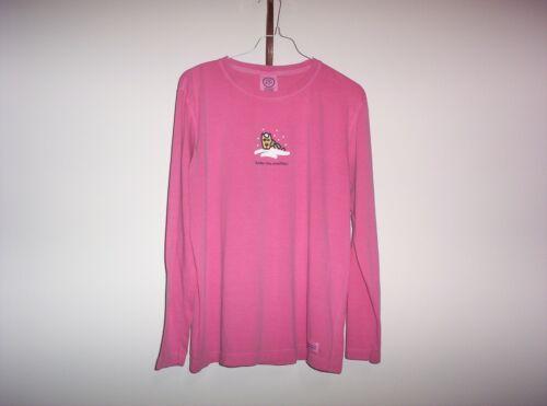 Original Style Life Is Good  T-Shirt Womens Medium