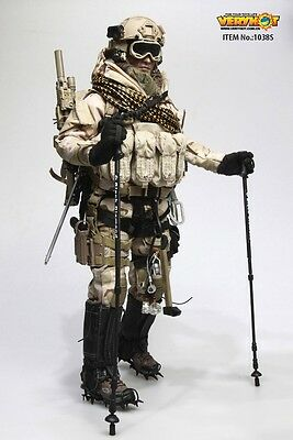 Very Hot US NAVY SEAL POLAR MOUNTAIN STRIKER Sand version Set 1/6 IN STOCK