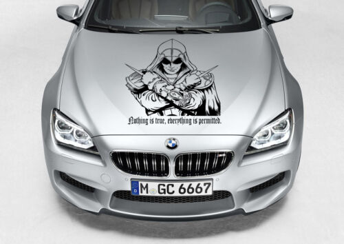 ASSASSINS CREED SIZE CHOICE CAR TRUCK DECAL GRAPHIC VINYL HOOD SIDE